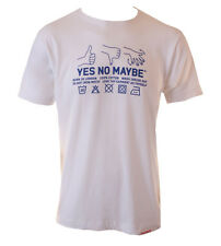 Yes No Maybe Wash Label T Shirt
