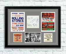 The Rolling Stones Concert Poster Tickets Autographs Memorabilia Poster 1960's