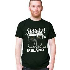 St. Patrick's Day Ireland T-Shirt With Guinness Pints Design And Sláinte Text