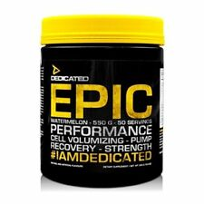 Dedicated Nutrition Epic Pre Workout Creatine Nitric Oxide Powder 550 g + SAMPLE