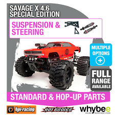 HPI SAVAGE X 4.6 SPECIAL EDITION [Steering & Suspension] New HPi Parts!