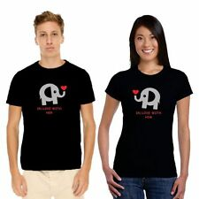 Giftsmate Cute In Love with You Couple tshirts for Men Women_Cotton, Love Gifts