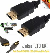 Gold Plated HDMI Male to High Speed Video Lead Cable 1080p for LCD HDTV PS3 PS4