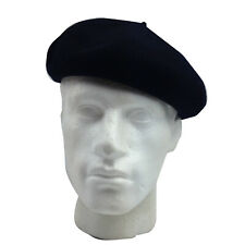 0ee4cf5e9 Black Beret De Luxe 100 Wool Import from France WPL 10888 ...