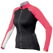 Mavic Athena Long Fodero Jersey DONNA black/red/bianco