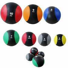 Medicine Balls Weights 2-10kg Gymnastic Pilates Yoga Fitness Boxing Exercise