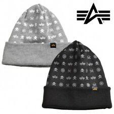 Alpha Industries Beanie DAPPERTUTTO berretto inverno autunno TAGLIA UNICA UNISEX