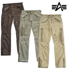 Alpha Industries Herren Hose Flight Pant Cargohose Cargo Men Pants alle Größen !