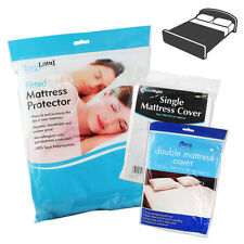 Mattress Cover Sheet Single Double Bed Protective Waterproof Fitted Baby Adult