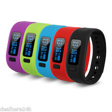 Bluetooth V4.0 Smart Bracelet Call/SMS Pedometer Sport Watch For Android ios IT