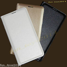 High Quality Leather Flap Flip Cover Case For Samsung Galaxy S Duos S7562