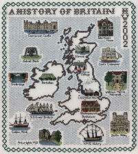 Counted Cross Stitch Map Kits - The British Isles and History