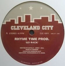 "Rhyme Time Prod.*-Go Back 12""-Cleveland City Records, CLE 13011, 1993, Plain Sle"