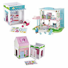 ELC Rosebud Kids Pretend Role-Play Hospital Pet House Buildings Girls Boys Fun
