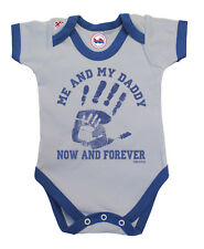 BritTot Baby Grow | Me & My DADDY Now & Forever | Boys Bodysuit Baby Shower