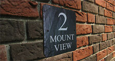 1st 4 Signs - Quality Slate House Signs. Custom Made to Order. Free Delivery