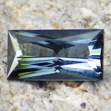 TOURMALINE INDICOLITE-NIGERIA 0.42Ct FLAWLESS-FOR SMALL SIZED JEWELRY-RARE!
