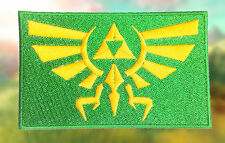 The Legend of Zelda Hyrule Link Hero Video Game Embroidered Iron-on Patch/Badge