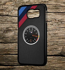 BMW Speedometer Racing Stripes M3 Carbon Samsung Galaxy S5 S6 S6e Case Cover