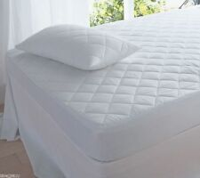 Quilted Mattress Protector Bed Single Double 4ft Small Double King Super King