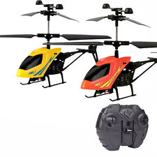 2CH Mini RC Helicopter Remote Control Radio Aircraft Electric Micro KIDS Toys