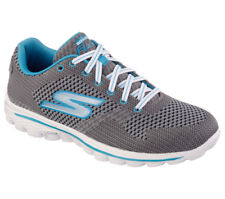 NEW SKECHERS Women Fitness Sneakers Trainers Walking GO WALK 2 - SPARK Charcoal