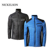 NICKELSON MENS RANGER QUILTED JACKET FLEECE LINED COAT RRP £69 SAVE 75% OFF