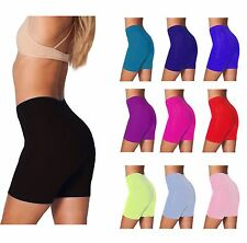 Womens Ladies Cycling Shorts Active Casual Dancing Lycra Shorts Leggings UK 8-22
