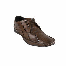 Branded Yellow Tree Brown Designer loafer / shoes For Men (Italiano-Brown)