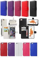 New Luxury Leather Wallet Flip Case Cover Card Slots For Apple iPhone 6/6 Plus/7