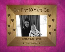 Personalised 1st Mothers Day Photo Frame Mum ,1st  Mothers  days