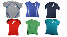 Adidas women's running fitness t-shirt tee tops BNWT all sizes free UK postage
