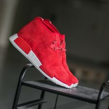 Adidas NMD Nomad C1 Red Chukka Sizes 6 to 12 Availables Boost Suede S79147