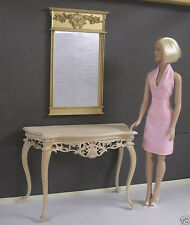 FRENCH MIRROR ~ for  TYLER   ~ Furniture ~ 1:4 scale ~ 16: Doll ~ DIORAMA
