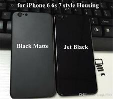 Good Quality jet black housing body for iphone 6 looks like iphone 7 style