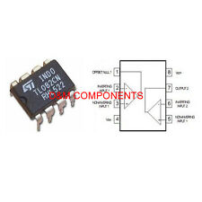 TL082 Low Noise J-FET Dual Operational Amplifiers, Pack 2, 5 or 10
