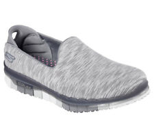 NEW SKECHERS Women Fitness Sneakers Slipper Memory Foam GO FLEX AGILITY Charcoal