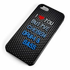 I Heart You But I Have Chosen Drum and Bass iPhone Range Cover Case EDM Music