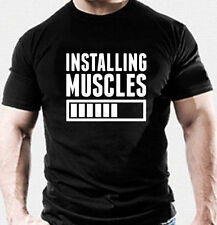 MMA GYM BODYBUILDING MOTIVATION T-Shirt WORKOUT CLOTHING TRAINING TOP / CLOTHES