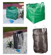 HEAVY DUTY GARDEN WASTE RUBBISH GRASS REFUSE TIP SACK BAG WATERPROOF REUSABLE