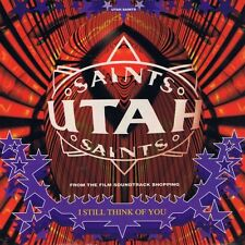"Utah Saints-I Still Think Of You 7"" 45-FFRR, F 225, 1994, Plain Sleeve"
