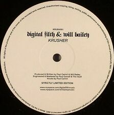 "Digital Filth & Will Bailey-Krusher 12""-Not On Label, KRUSH001, 2007, Plain Slee"