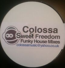 "Colossa Vs Michael Mcdonald-Sweet Freedom (Funky House Mixes) 12""-Not On Label,"
