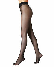 Womens Ultra Sheer Tights Natural Cooling 10 Denier Pantyhose Black -Nude -T IL