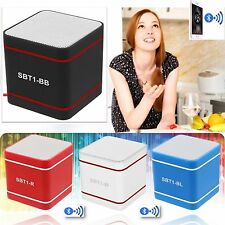 Portable Wireless Bluetooth 3.0 Hands-Free Mini Speakers For Smartphone iPad Lot