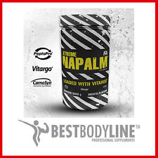 FA Nutrition Napalm Loaded with Vitargo 500g/1000g Pre workout Vit B6 Taurine