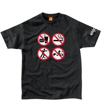Enjoi No Fun Short Sleeve T-Shirt in Black