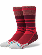 Stance Meara Crew Crew Socks in Red