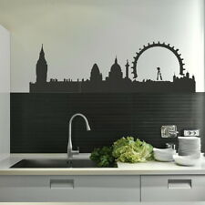 LONDON SKYLINE Giant wall sticker / art transfer graphic vinyl large ne9