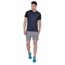 Branded Dry Fit Element Hz Black Blue Half Sleeves Round Neck T-Shirt Men & Boys